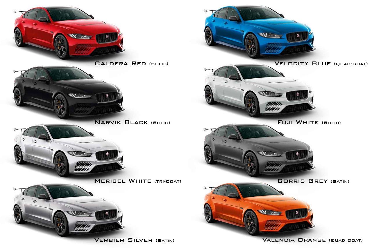 2018 Jaguar Xe Sv Project 8 Colours Autobics