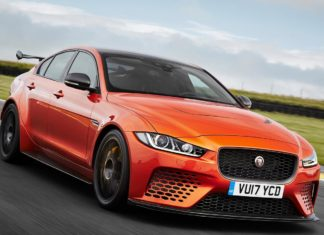 2018 jaguar xe sv project 8 front right