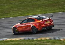2018 jaguar xe sv project 8 rear left