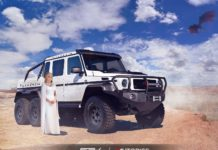 Daenerys Targaryen – Mercedes-Benz G63 AMG 6X6 - Game of Thrones