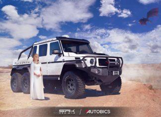 Daenerys Targaryen – Mercedes-Benz G63 AMG 6X6 - Game of Thrones
