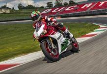 Ducati 1299 Panigale R Final Edition cornering