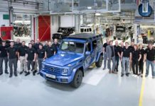Mercedes-Benz G-Class 300000th unit