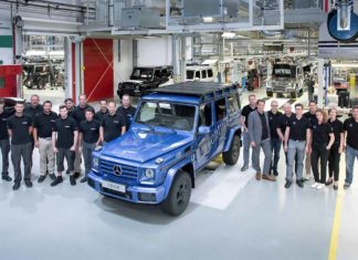Mercedes-Benz G-Class 300000th unit