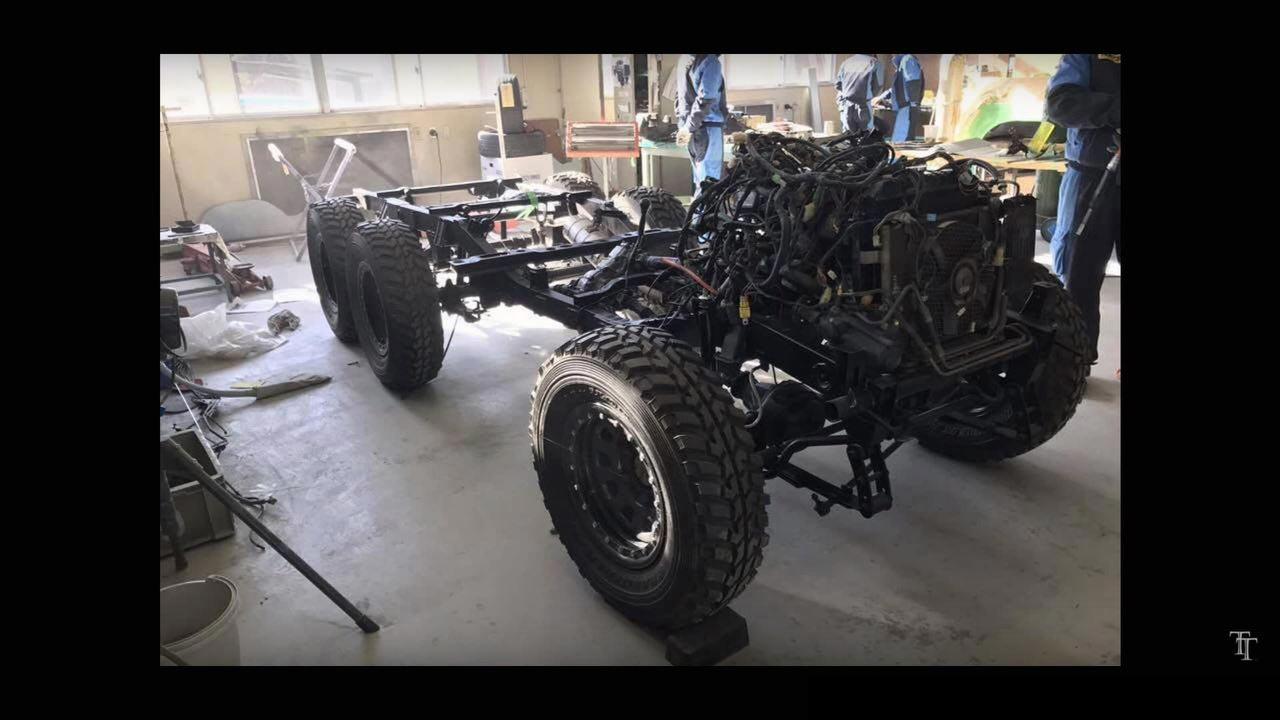 nats mercedes benz amg 6x6 replica chassis | AUTOBICS