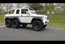 nats mercedes benz amg 6x6 replica side