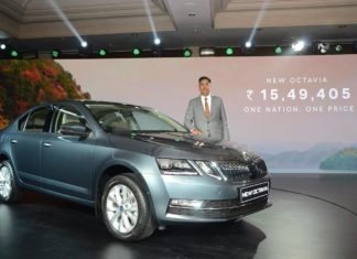 new 2017 skoda octavia launched in india quartz grey