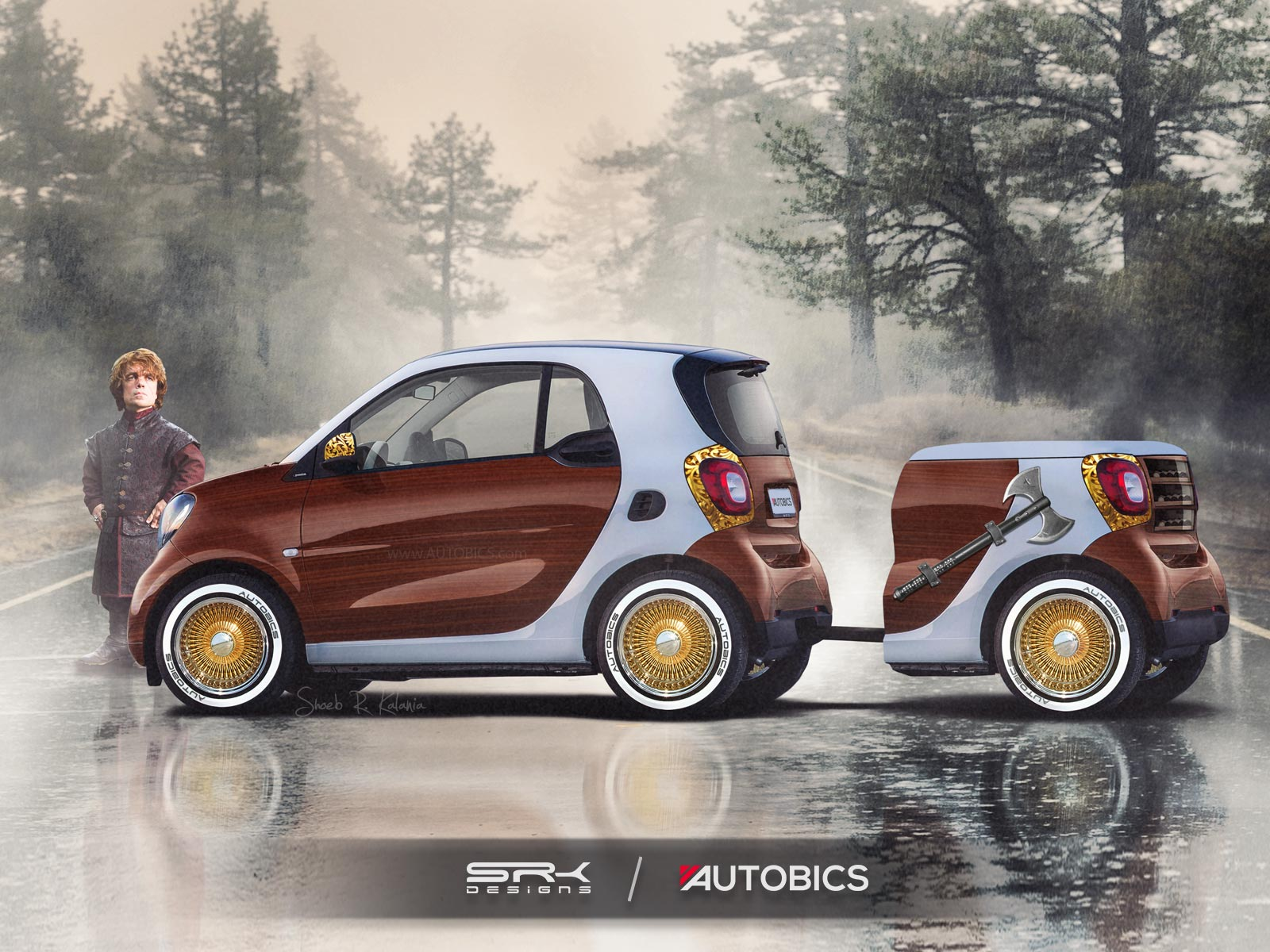 Tyrion Lannister – Smart ForTwo - Game of Thrones