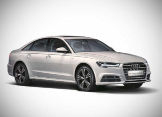 2017 audi a6 design edition front quarter