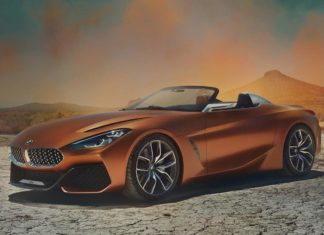 2017 bmw z4 concept car front quarter