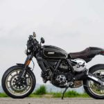 2017 ducati scrambler cafe racer left side