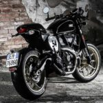 2017 ducati scrambler cafe racer rear right