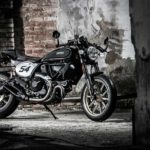 2017 ducati scrambler cafe racer right side