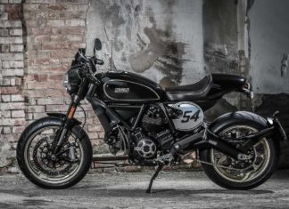 2017 ducati scrambler cafe racer side