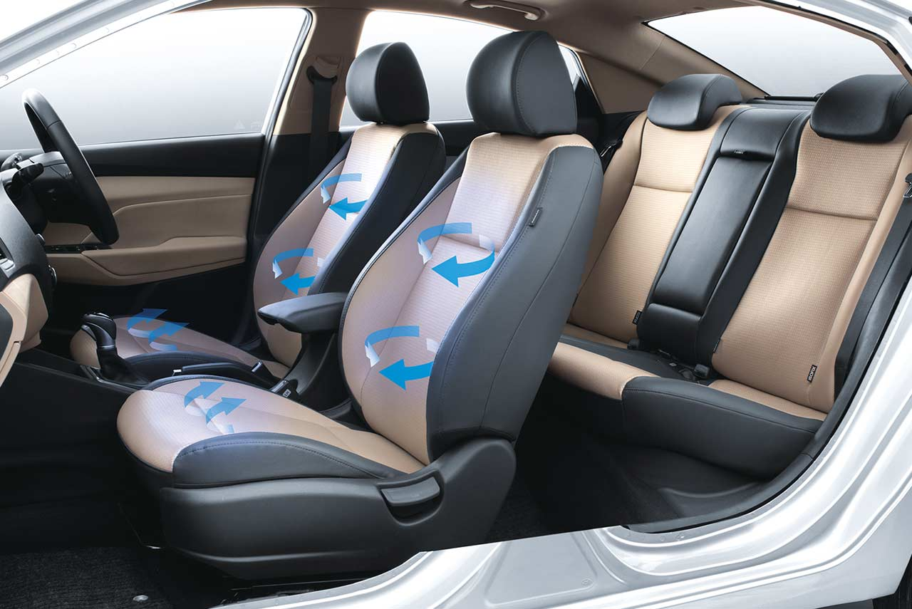 2017 Hyundai Verna Front Seats Studio Autobics