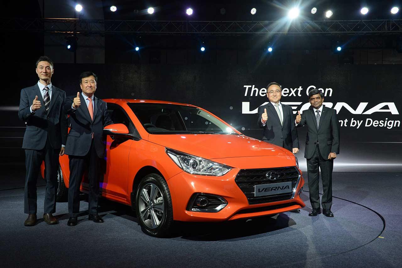 2017 Hyundai Verna Launched In India Autobics