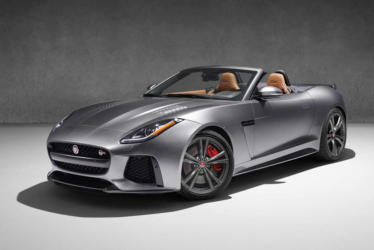 Jaguar F Type Svr Coupe And Convertible Launched In India