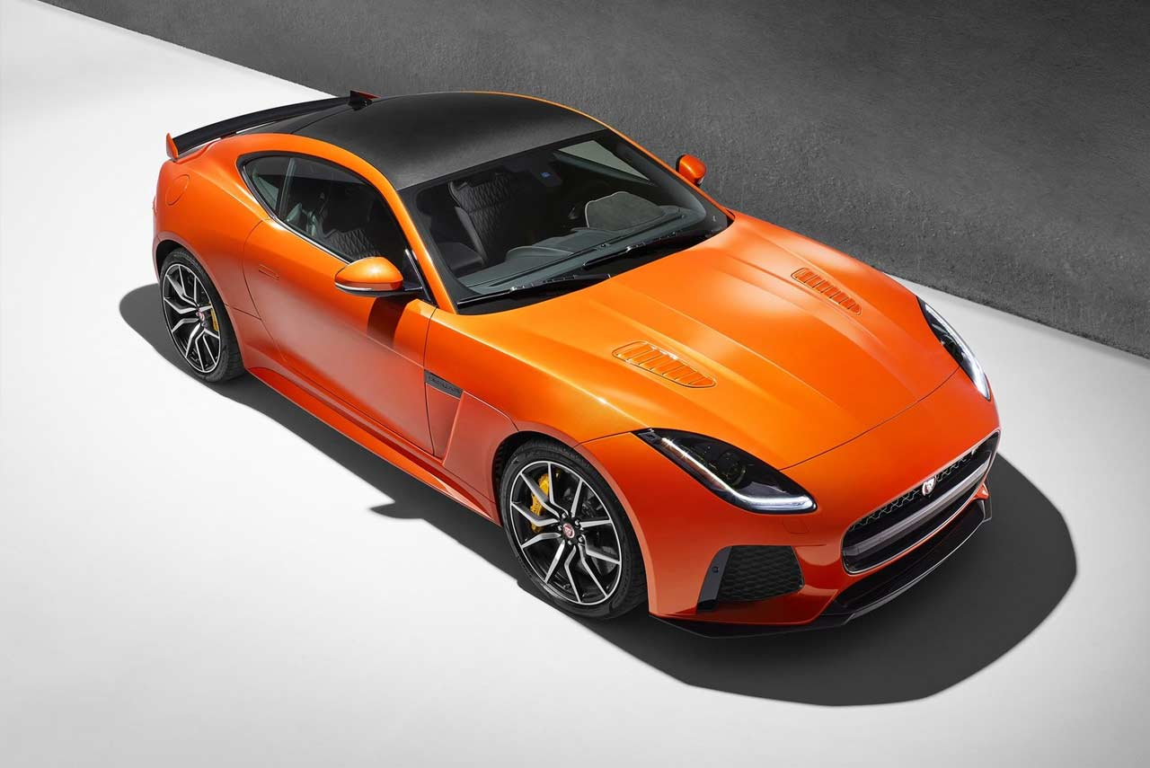 jaguar f type svr coupe and convertible launched in india autobics. Black Bedroom Furniture Sets. Home Design Ideas