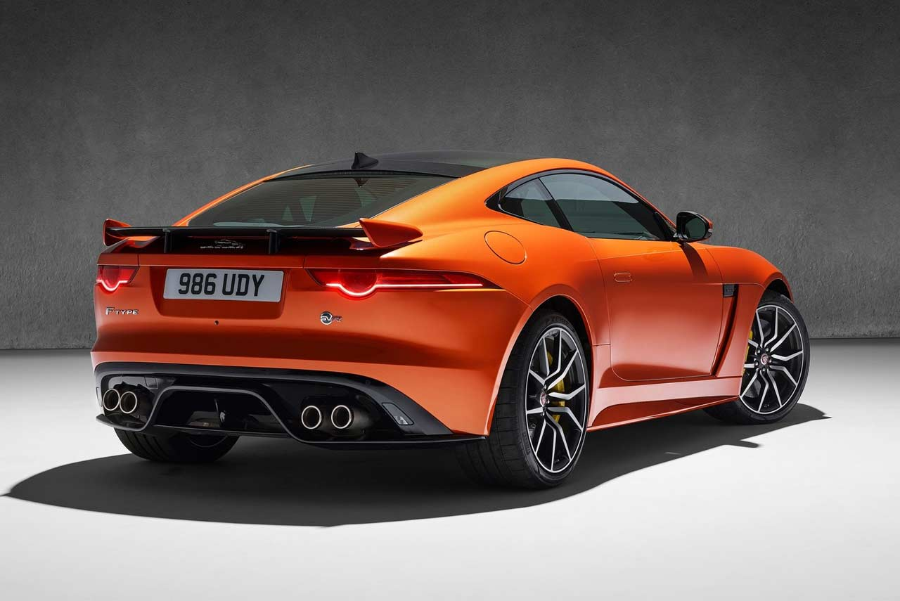 jaguar f type svr coupe and convertible launched in india. Black Bedroom Furniture Sets. Home Design Ideas