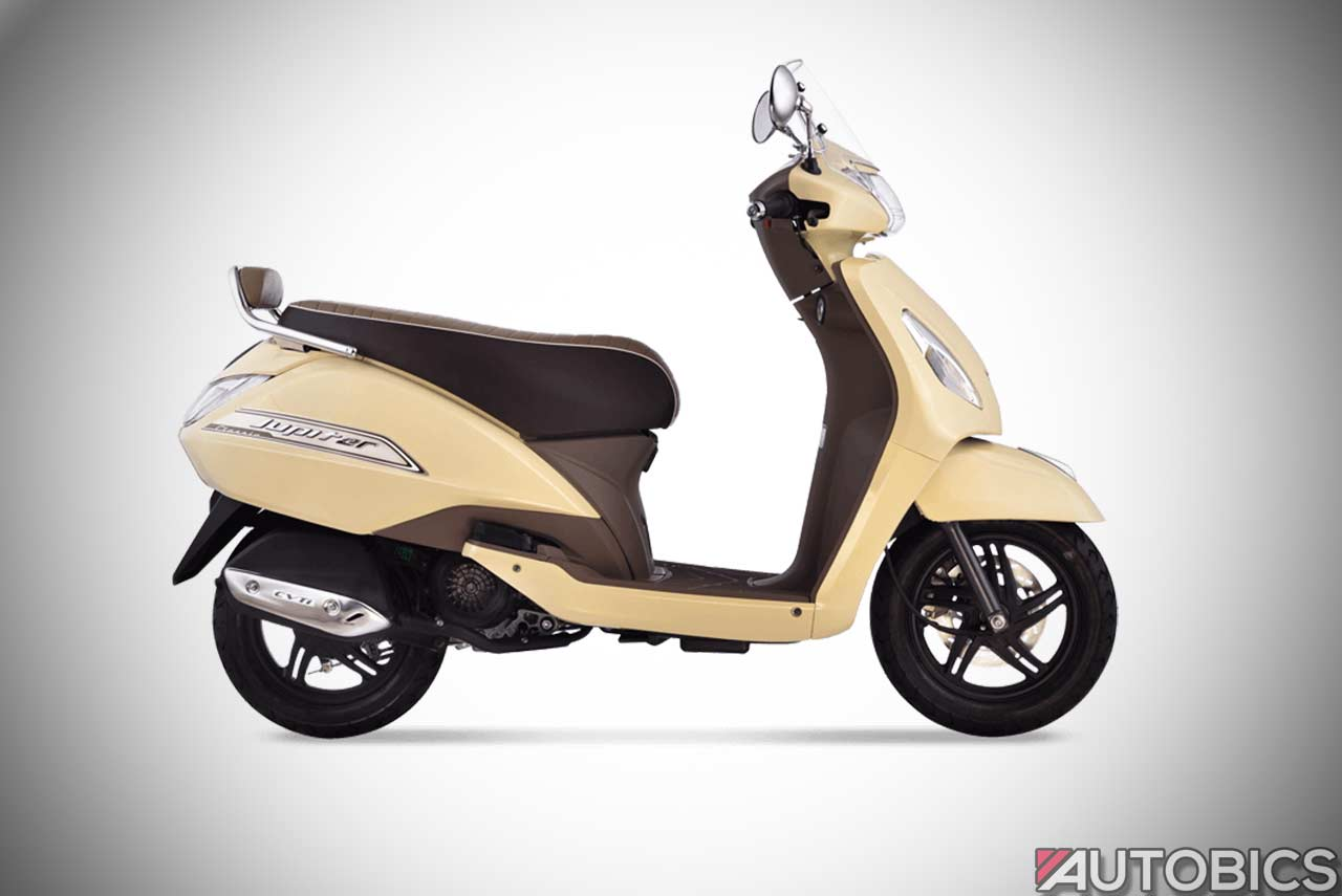 Tvs Jupiter Classic Edition Launched In India Autobics