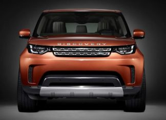 2017 land rover discovery front studio