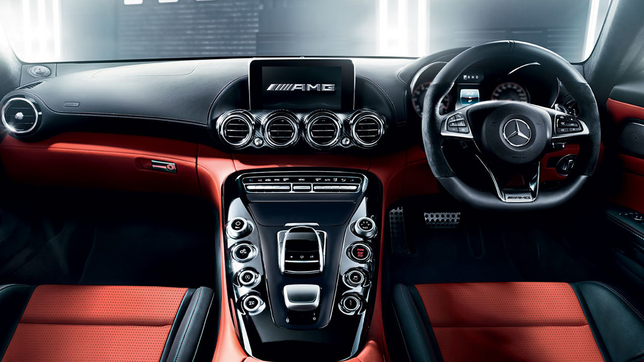 2017 Mercedes Amg Gt Roadster Interior Dashboard Autobics