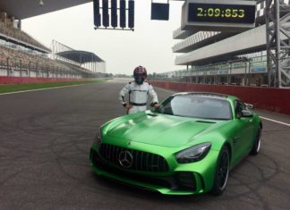 2017 mercedes-benz amg gt r with christian hohenadel