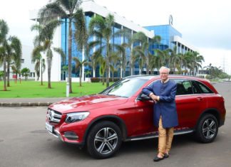 2017 mercedes-benz glc celebration edition with roland folger