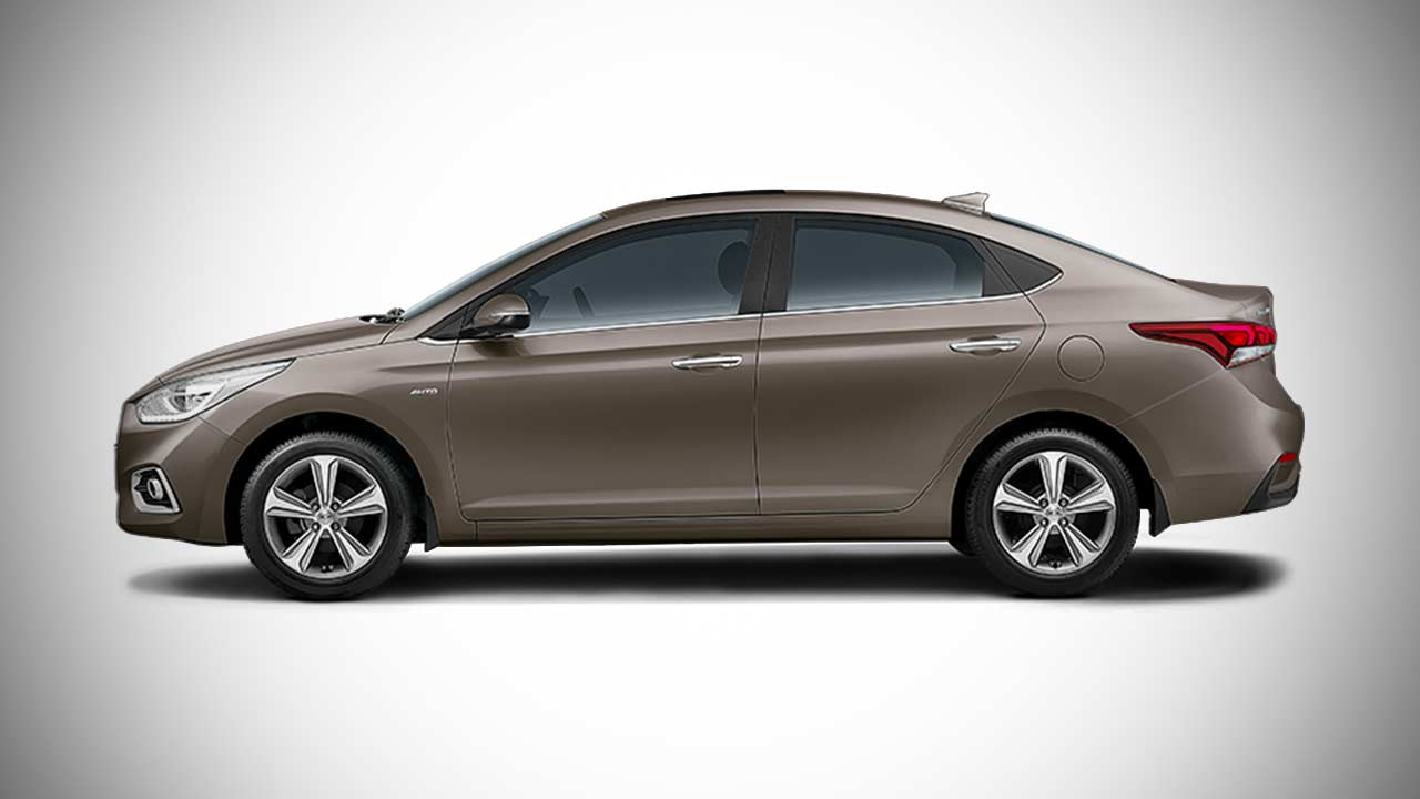 2017 New Hyundai Verna Siena Brown Autobics