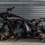 2017 rajputana custom motorcycles jordaar rear left