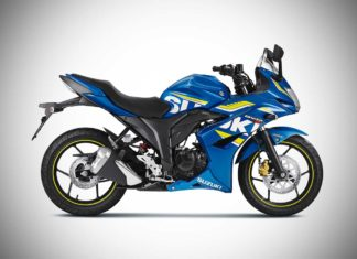 2017 suzuki gixxer sf abs metallic trition blue