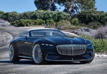 2017 vision mercedes-maybach 6 cabriolet front quarter