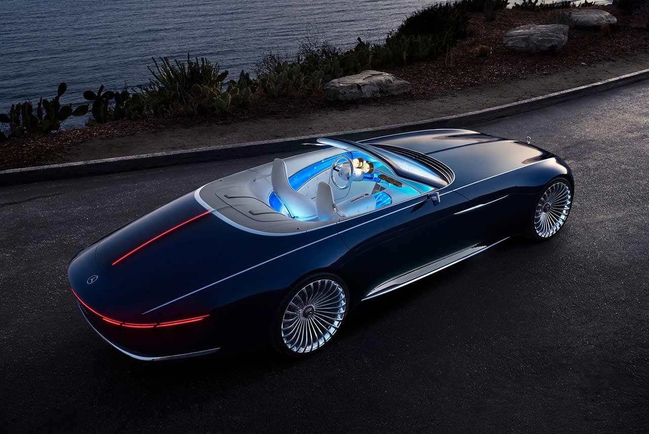 vision mercedes maybach 6 cabriolet unveiled autobics. Black Bedroom Furniture Sets. Home Design Ideas