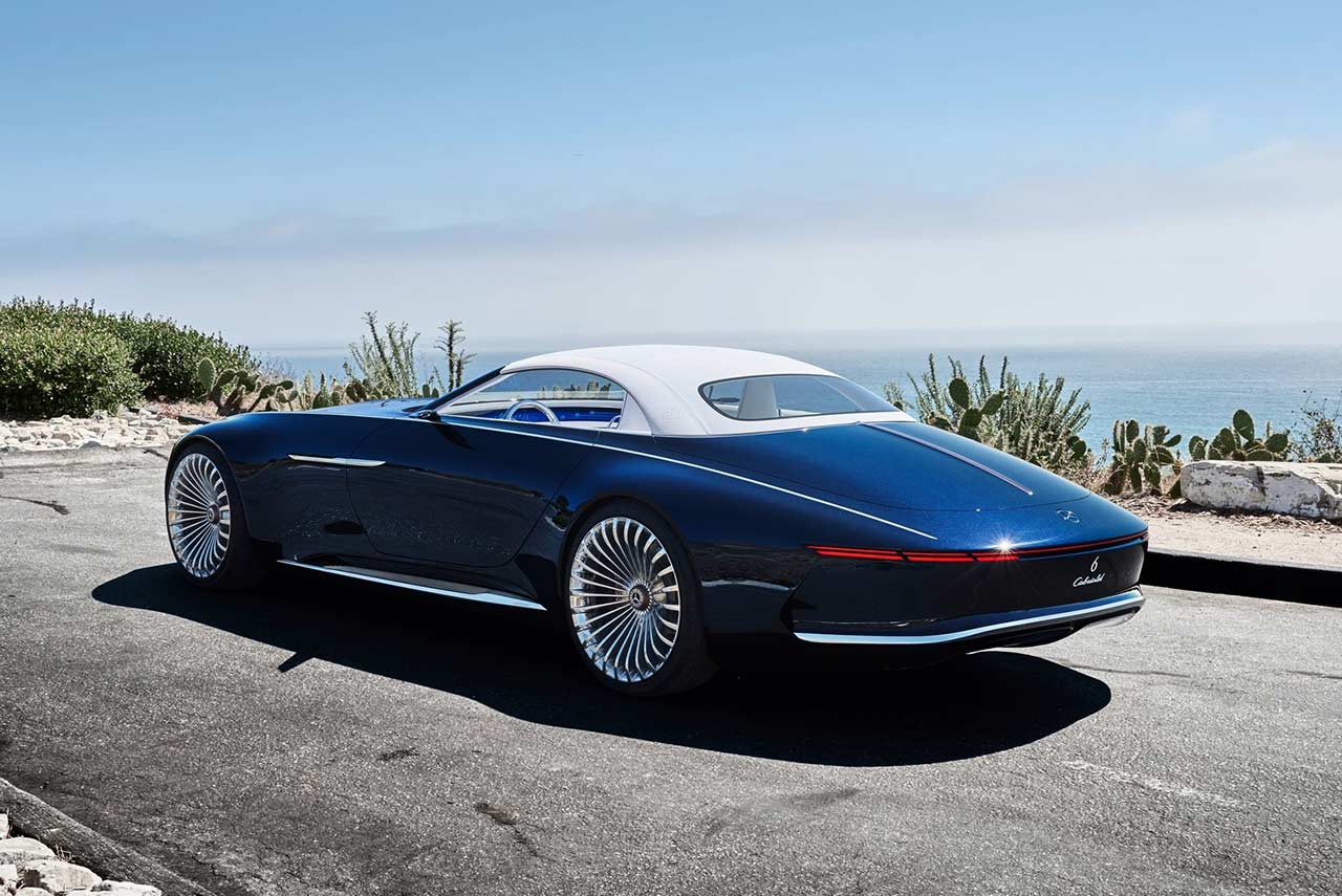 Vision Mercedes Maybach 6 Cabriolet Unveiled Autobics