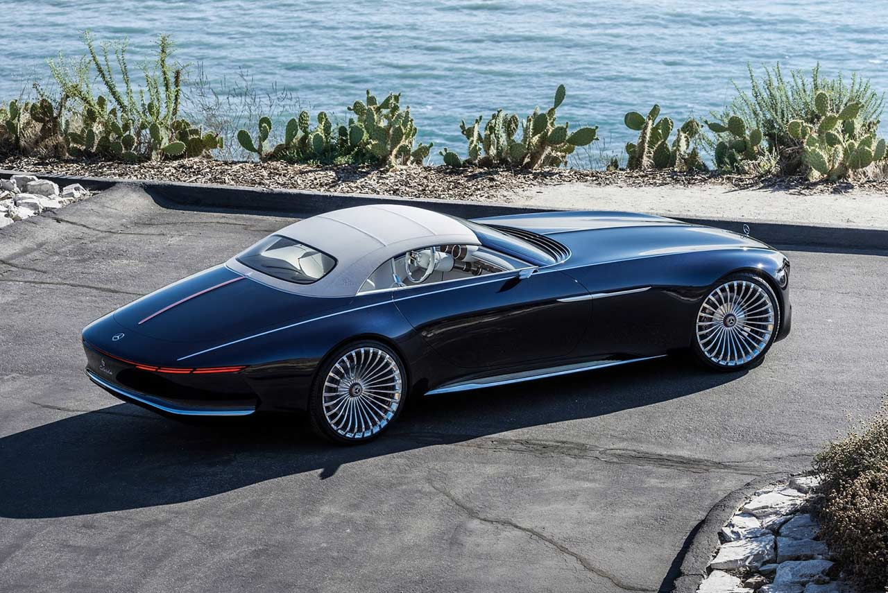 vision mercedes maybach 6 cabriolet unveiled autobics. Black Bedroom Furniture Sets. Home Design Ideas
