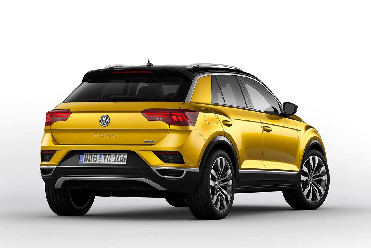 volkswagen t roc makes its world premiere autobics. Black Bedroom Furniture Sets. Home Design Ideas