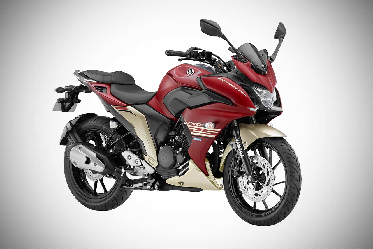 yamaha fazer 25 launched in india priced at inr lakh autobics. Black Bedroom Furniture Sets. Home Design Ideas