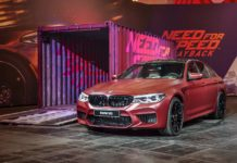 2018 bmw m5 need for speed payback unveil front