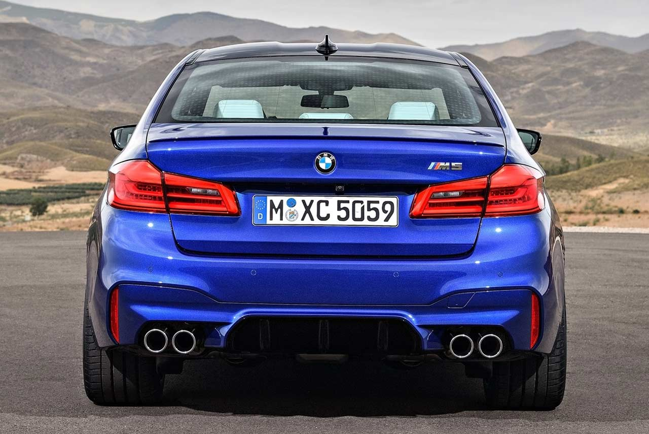 Duster Price 2017 >> The 2018 BMW M5 has been revealed - AUTOBICS