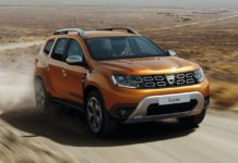 2018 dacia duster atacama orange front quarter dynamic