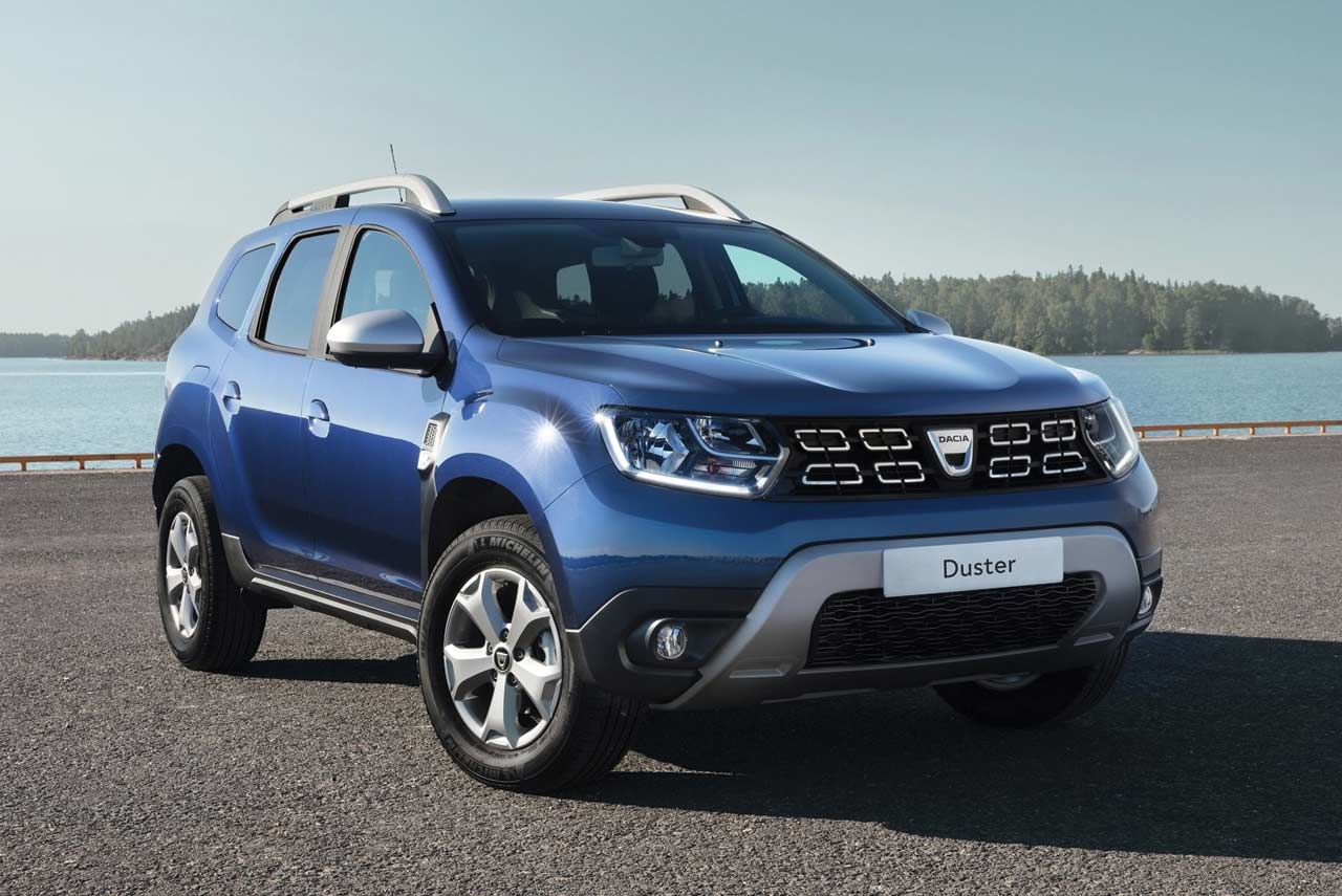 all new 2018 dacia duster modern attractive and robust autobics. Black Bedroom Furniture Sets. Home Design Ideas