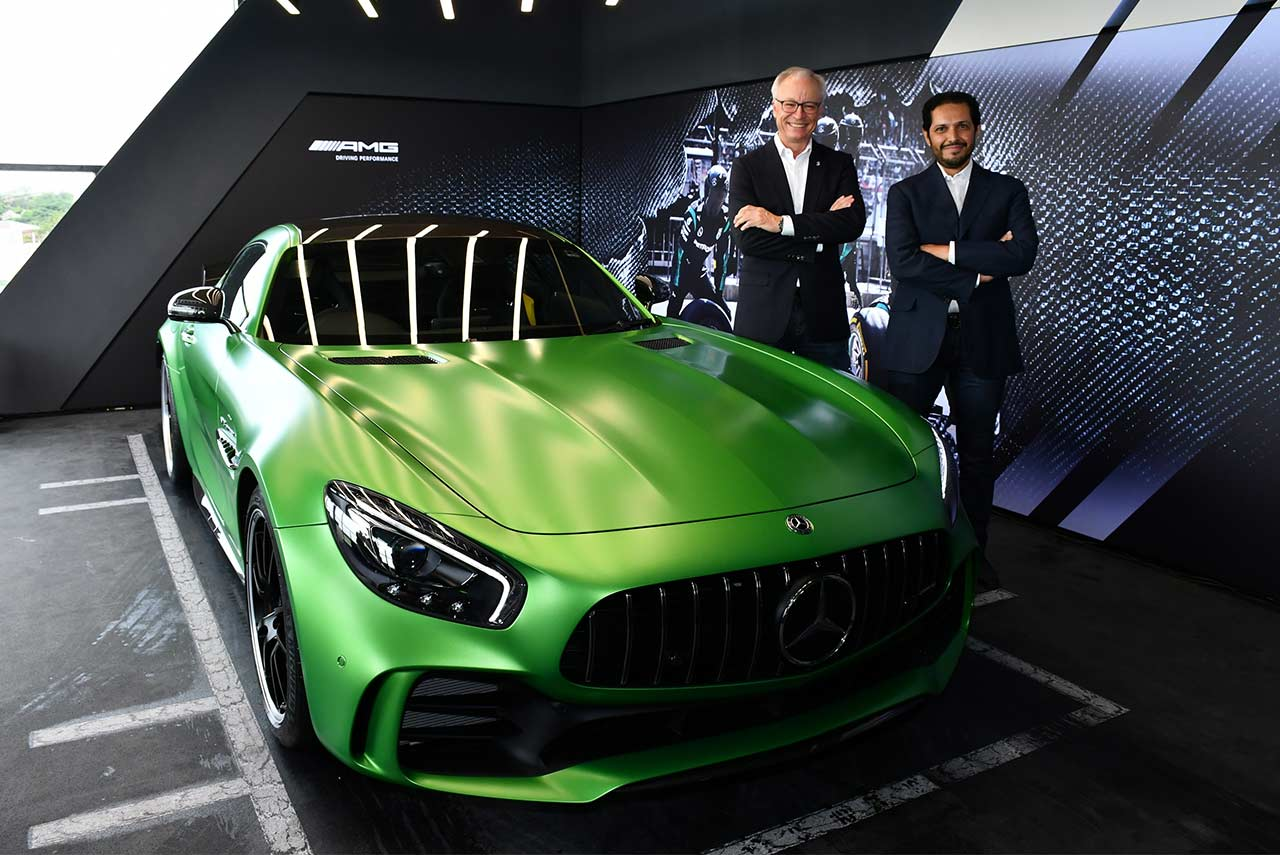 Mercedes benz opens amg performance center in chennai for Mercedes benz chennai