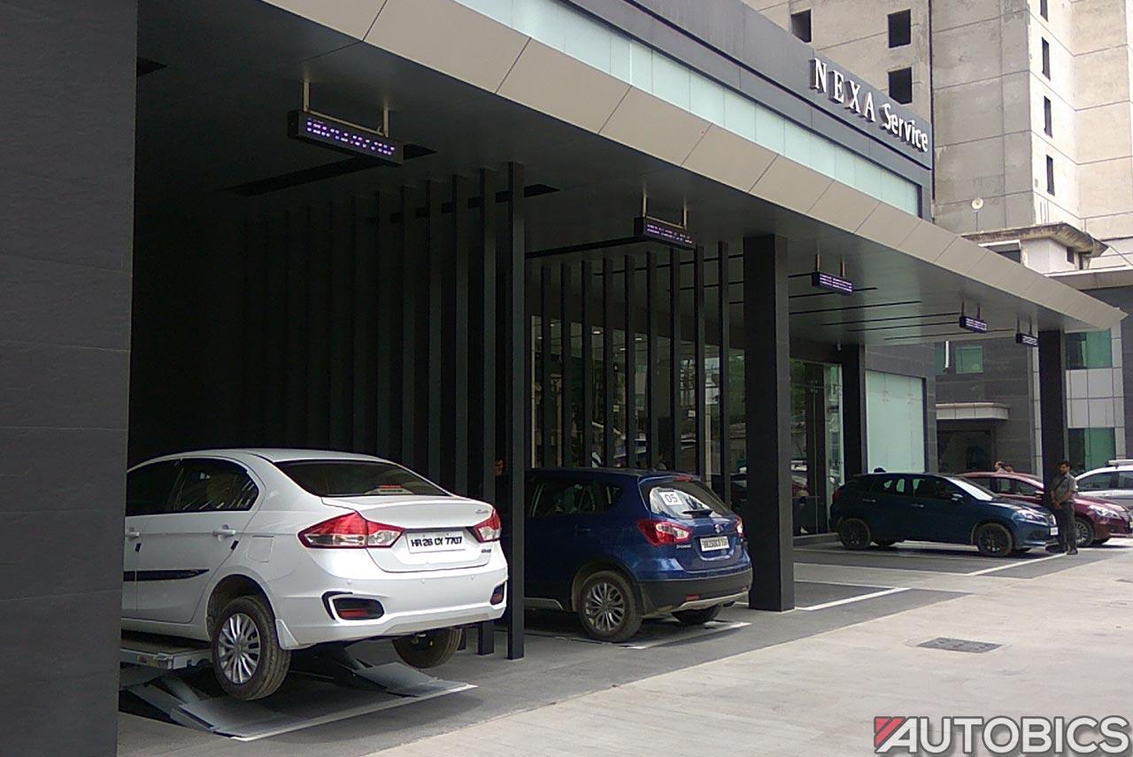 nexa service gurgaon lobby
