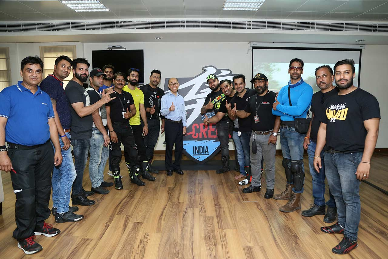 suzuki hayabusa creed india members