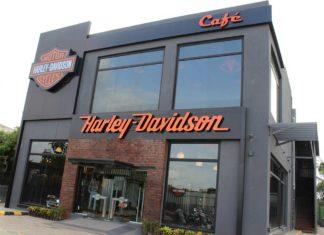 warrior harley-davidson concept store kolhapur showroom