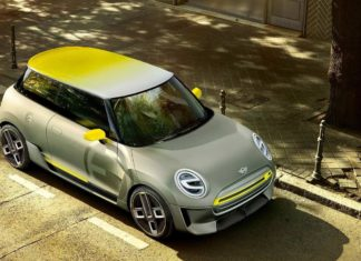 2017 Mini electric concept top view