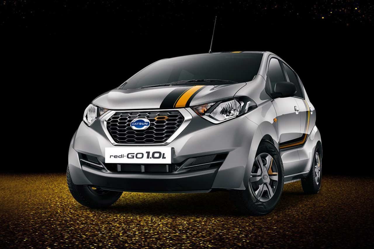 Limited Edition Datsun redi-GO Gold 1.0L launched in India ...