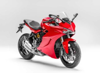 2017 ducati supersport red front pr