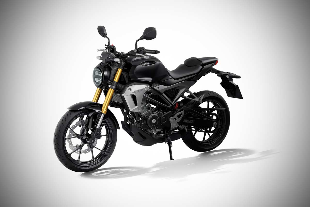 2017 Honda Cb150r Exmotion Asteroid Black Metallic Autobics