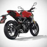 2017 honda cb150r exmotion millennium red rear